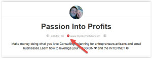 pinterest business verified